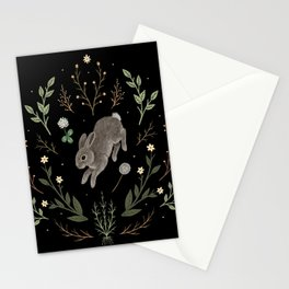 Hoppy Botanical Bunny Stationery Cards