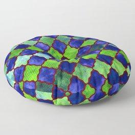 Spyjack Arabesque Digital Quilt Floor Pillow