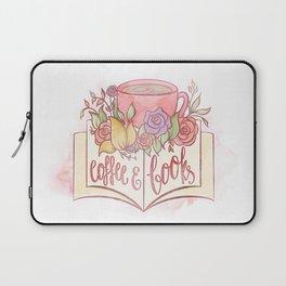 COFFEE & BOOKS Laptop Sleeve