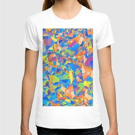 Cubism Abstract 182 T-shirt
