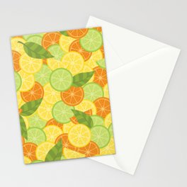 Citrus Carnival Stationery Cards