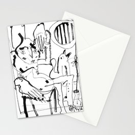 Two in a cabin Stationery Cards