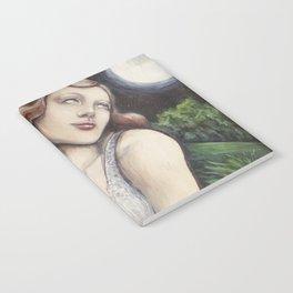 The High Priestess - Tarot Card Art Notebook