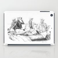 women iPad Cases featuring Women by Alessia Pelonzi