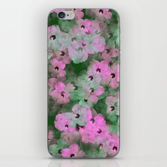 Floral Passion iPhone & iPod Skin