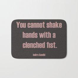 Shake Hands Bath Mat