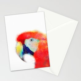 The Articulate - Parrot Stationery Cards