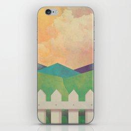 Watercolor Farm iPhone Skin