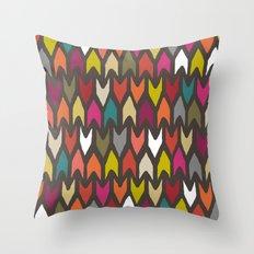 arrow multi Throw Pillow
