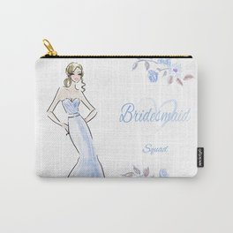 Bridesmaid Squad Customizeable Carry-All Pouch