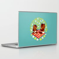yetiland Laptop & iPad Skins featuring picknick bears by Yetiland