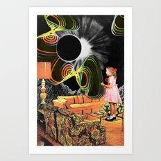 Inter-Dimensional Phone Line Art Print