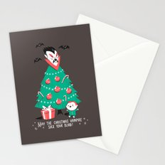 Return of the Christmas Vampire Stationery Cards
