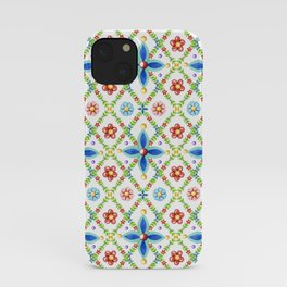 Millefiori Heraldic Lattice iPhone Case