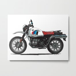 BMW R80GS PD Metal Print