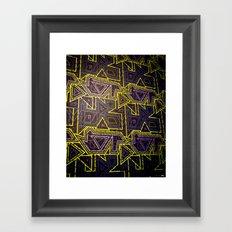 arcade (variant 2) Framed Art Print