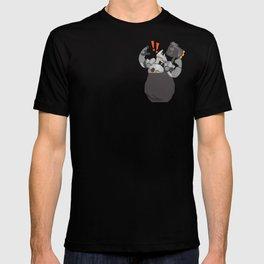 Pocket tank rein T-shirt
