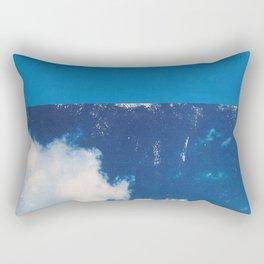 SKY/BLU Rectangular Pillow