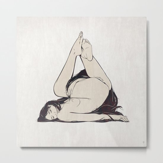 My Simple Figures: The Triangle Metal Print