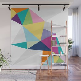 Triangle Brights Wall Mural