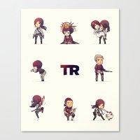 tomb raider Canvas Prints featuring Tomb Raider (2013) by ihatetombs