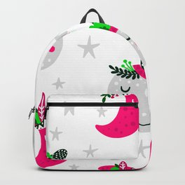 pink moon Backpack