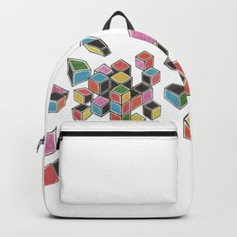 Exploded Rubik's Cube Backpack