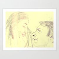 eternal sunshine Art Prints featuring Eternal Sunshine by Dev McNeill
