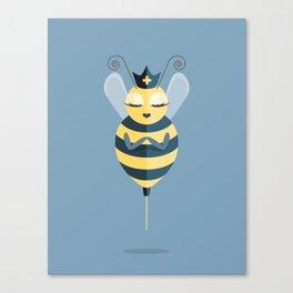 Queen of My Vaccine Canvas Print