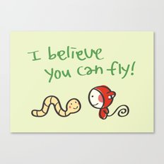 I Believe You Can Fly Canvas Print
