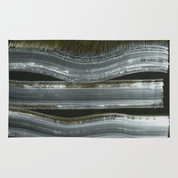 wind Area & Throw Rugs featuring Wind by Marianna Shomero