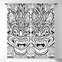 Barong / Balinese mask / Bali mask #1 Blackout Curtain
