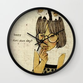 Happy April 1 st! Wall Clock
