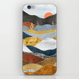 Desert Cold iPhone Skin
