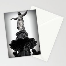 The Lady Of Fountain Square Stationery Cards