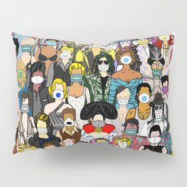 Face Mask Party Pillow Sham