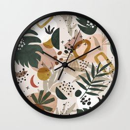 Picturesque abstract nature Wall Clock