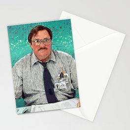 Milton - Office Space Stationery Cards