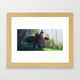 Cassodragon Framed Art Print