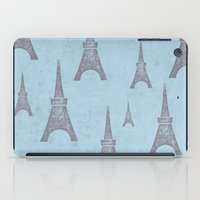 paris iPad Cases featuring Paris by sinonelineman