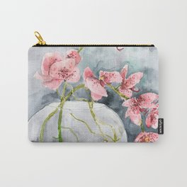 Orchid #5 Carry-All Pouch