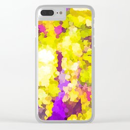 Sparking Joy On The Sunny Side Of The Street Clear iPhone Case