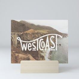 West Coast - BigSur Mini Art Print