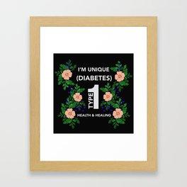 I'm unique Framed Art Print