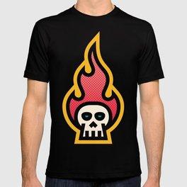 ME&MO Skull Flame T-shirt