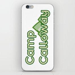 Camp Calloway iPhone Skin