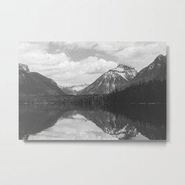 Peace At Lake McDonald  Metal Print