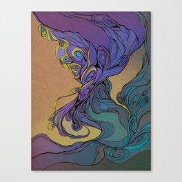 Magic Smoke Canvas Print