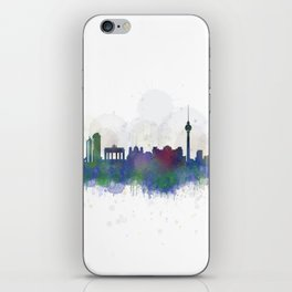 Berlin City Skyline HQ3 iPhone Skin
