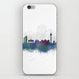 Berlin City Skyline HQ3 iPhone Skin